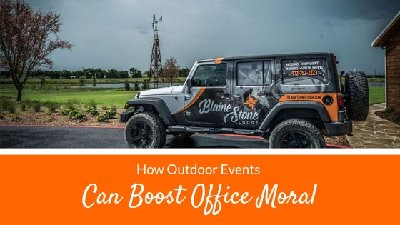 How Outdoor Corporate Events Can Boost Office Morale