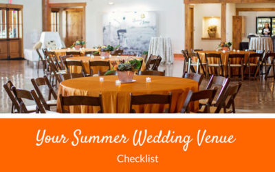 Your Summer Wedding Venue Checklist
